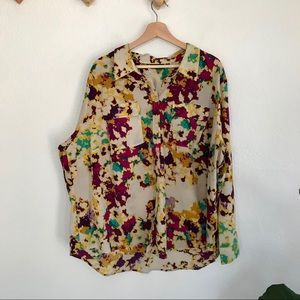 4/$25 Apt. 9 | abstract printed blouse